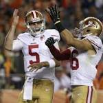 Snap count: Ponder has fun again in debut with 49ers