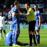 Ba's late goal against Swansea City keeps Chelsea in PL title race
