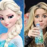 'Frozen' soundtrack keeps Shakira from top of Billboard chart