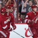 Mikkel Boedker's hat trick for Coyotes helps keep Oilers winless