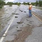 Flooding causes massive damage to Texas roads, bridges