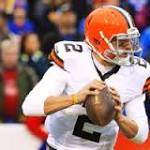 Manziel makes noise late for Browns