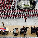 Britain bids farewell to Thatcher's funeral, debates her controversial legacy