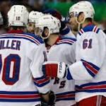 Hartnett: As Game 7 Nears, Fired-Up Top Line Is Powering Rangers