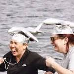 On balmy winter day, hundreds take Polar Plunge for a good cause