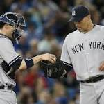 Andy Pettitte pitches in, but Yankees' bats blanked against Blue Jays