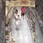 Caught on video: Stranger tries to take child from grocery...