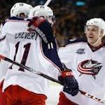 Blue Jackets End Skid With 3-1 Win At Bruins