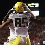 Ducks Fly By Utes