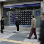 Asia Stocks Drop Second Day as Topix Sinks; H-Shares Rise