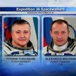 Russian spacewalk begins to prepare for new lab module