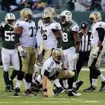 Jets top Saints 26-20, continue win-lose-win trend