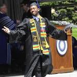 Robert Redford to Colby graduates: Remember hope and collaboration