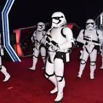 'Force Awakens' red carpet includes Stormtroopers, droids