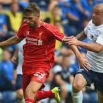 Fabio Borini: Liverpool striker injures shoulder in Roma defeat
