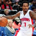 Brandon Jennings' Injury Won't Derail Detroit Pistons' 2015 Playoff Push