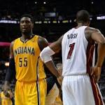 Hibbert helps Pacers pull away from 76ers 103-91