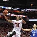 No. 14 Louisville trips up No. 7 Duke 78-69