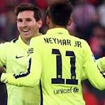 Masterful Messi puts Barca 1 point from Madrid; United draws