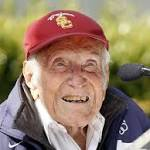 Louis Zamperini Dies of Pneumonia; 'Unbroken' Director Angelina Jolie Pays ...