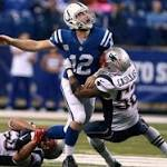 Luck would take another big step if Colts beat Patriots