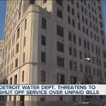 Detroit plans to step up water service shutoffs