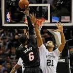 Miami Heat falls flat against San Antonio Spurs