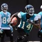 Friday's NFL notebook: Jaguars' Justin Blackmon suspended once more