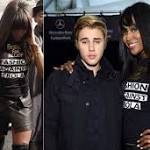 Justin Bieber Holds Hands With Naomi Campbell At Charity Fashion Show On ...