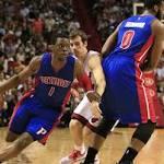 Pistons Host Bruised Heat