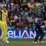 Starc stars as Australia pummel Scots at World Cup