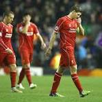 Liverpool 1 Basel 1: Ten-man hosts crash out despite late Steven Gerrard ...