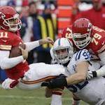 Chiefs Fall to the Colts at Arrowhead, 23-7