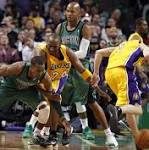 Zeller leads Celtics to 113-96 win over Lakers