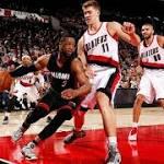 Wade scores 30, Heat rally to beat Blazers 108-104