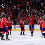 Caps take 3-2 series lead over Islanders behind rookie's 3-point night
