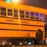 Police say driver in deadly school bus crash was texting
