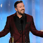 Ricky Gervais vs. Hollywood: His Most F--ked-Up Golden Globes Jokes