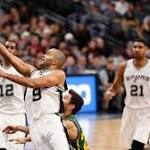 Spurs dominate Jazz to remain unbeaten at home