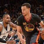 Curry, Warriors Breeze By Spurs