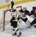 NHL: Boston Bruins secure play-off spot after 2-0 win over Colorado Avalanche