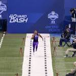 The 10 fastest 40-yard dashes in NFL Combine history