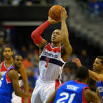 Wizards look to rediscover touch from three-point line