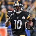 Steelers wide receiver Bryant suspended at least 1 year