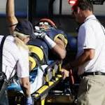 California Golden Bears' Davis Taken Off On Stretcher