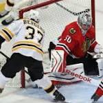 Bruins Rout Blackhawks 6-2,