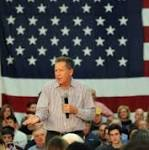 Kasich makes late Connecticut push, backed on TV by Super PAC
