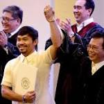It's official (finally): You can call him Senator-elect Manny Pacquiao