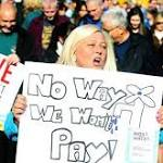 Estimated 20000 turn out for Cork city water protest