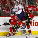 Capitals win second game in two days by beating Calgary